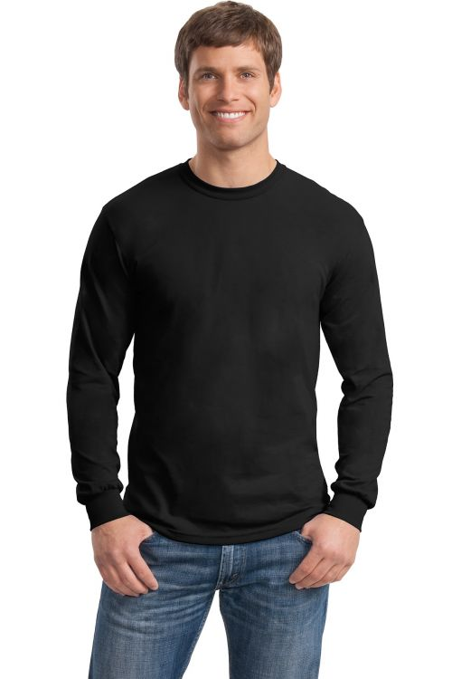 56823e1f2da Gildan Adult Heavy Cotton Long Sleeve T-Shirt 5400