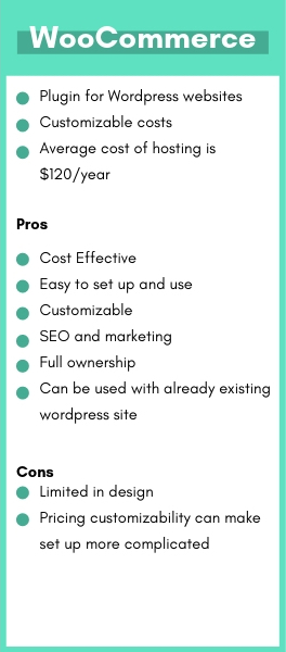 Pros and cons of WooCommerce